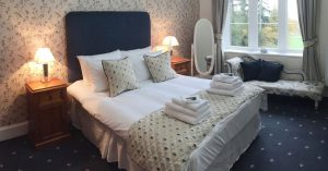 One of our superior en-suite bedrooms. With spectacular views of the surrounding countryside